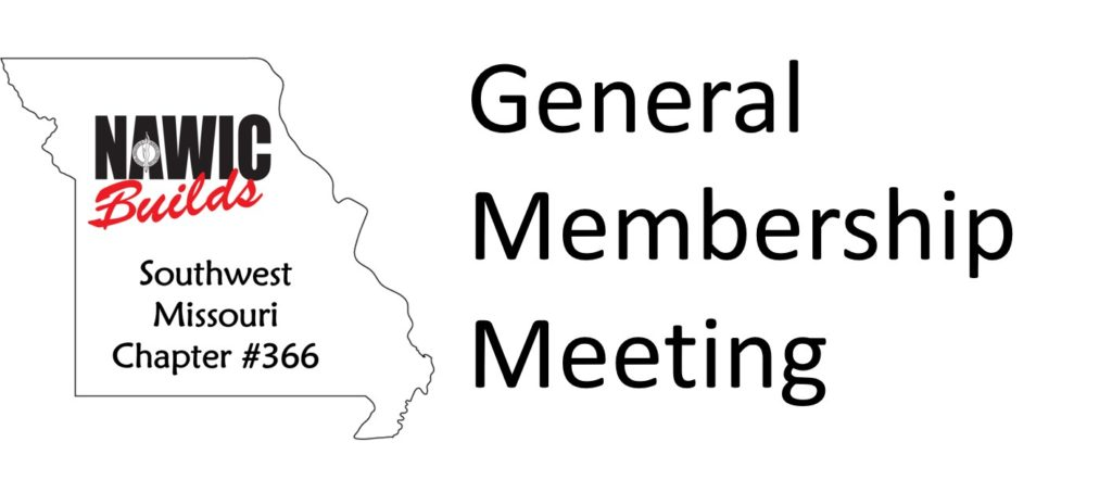 nawic chapter 366 general membership meeting